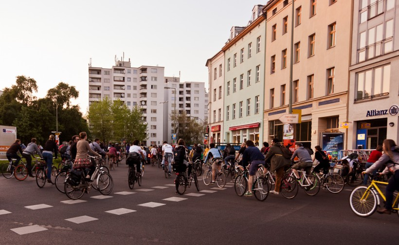 mitRADgelegenheit zur Critical Mass